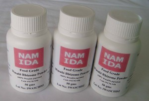 Buy Namida 100% Wasabia japonica powder here