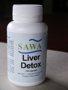 Single Sawa Liver Detox jar - 90 capsules x 250mg